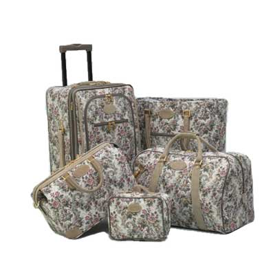 French Luggage Grey Rose and other...